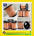 Fil d'aluminium plaqué de cuivre( métallique cca.) electric wire cable hs code 7605190010