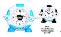 Football shape sway table clock