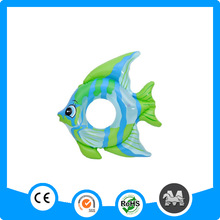 Fish shaped inflatable animals cheap swimming ring for baby