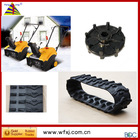 SnowThrower rubber track vender/Removal / snow sweeper /small snow-blower rubber track vender/ MINI Snow rubber track