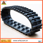 Snow Blower rubber track / light snow rubber tracks / snow removal truck / small snow tracks