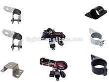 led strip mounting bracket,led light bar bracket /amplifier installation wiring kits,led wire