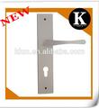 2014 nova chapa de zinco trava de segurança bloqueio de puxadores de portas de madeira