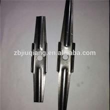 Ceramic fiber module refractory ceramic anchor