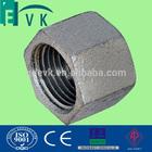 BSP threaded galvanized pipe end cap