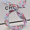 2015 girls handmade hair accessories fabric wholesale floral headband yiwu