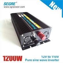 1200w pure sine wave power inverter 12v 110v