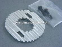 custom cnc silver motor heatsink plate mount new rare
