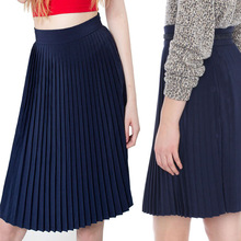 OEM custom made in China Pleated pencil lady short skirt good handmade ironing even no fading western ocean market hot sell