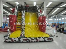 Kids inflatable spiderman slide for Sale