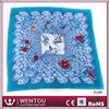 Wholesale china fashion 100% raw silk scarf
