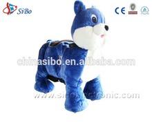 GM5913 SiBo plush rocking horse animals rocker ride on toys