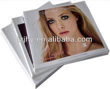 Hardcover photo book printing with DVD packaging