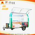 Móvil de alimentos carros, calle carrito de comida, Food Truck ( con grandes ruedas ) pizza máquinas expendedoras venta
