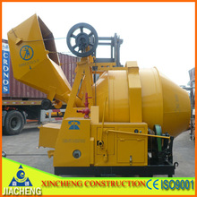 Best Selling!2014 New Condition!Used cement mixer!JZR350 Self Loading Portable Diesel Concrete Mixer
