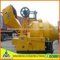 Hidráulica concreto mixer/mini misturador concreto/pequenas mobile misturador de cimento jzr350