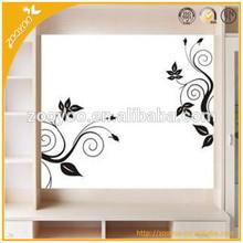 Removable vinyl home wall sticker/wall decal 3d design rattan wallpaper