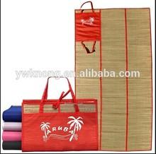 Rolling Beach Straw Mat,straw sleeping mats-TC93