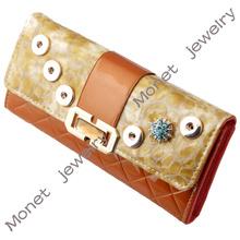 F00093 cheap wholesale women PU leather purse, money clip wallet