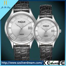 High quality Leather strap Charm For Lover Quartz Wrist quartz Watch