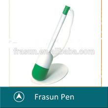Promotional pill shape capsule shape table pen/office desk pen/desk pen with chain
