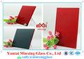 Decorativa de construção de vidro Alibaba novo produto CE & ISO certificados 4 mm regresso pintado parede de vidro colorido placa de vidro