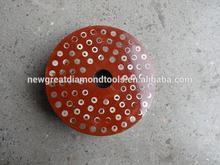 5inch Diamond straight edge snail lock polishing pads