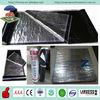 Reinforced asphalt based aluminium foil self adhesive outdoor roofing material waterproof