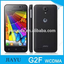 "Jiayu G2F WCDMA 3G GSM Dual sim MTK6582 Quad Core Dual sim Mobile phone 1.3GHz 4.3"" IPS 1280*720p Pixel 8.0M camera in stock"