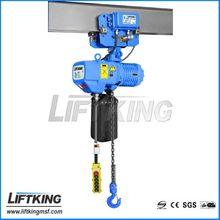 LIFTKING brand lifting machine ,single speed/ dual speed , 2t motorized construction hoist