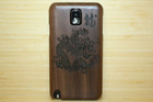 2014 Wholesale Wood phone waterproof case for samsung galaxy s4 mini