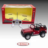 Shantou RC Jeep 1:16 Scale Model RC Car Jeep Body R18664