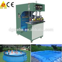 radio frequency tarpaulin making machine made in china