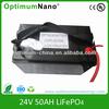 golf trolley golf car lifepo4 battery pack 24v 50ah