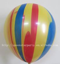 Natural latex balloons Party balloons Rainbow balloon