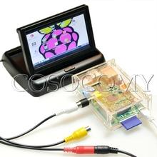 "4.3"" Flip TFT LCD Screen Monitor 480 X 272 for DIY Raspberry Pi Monitor US Plug"