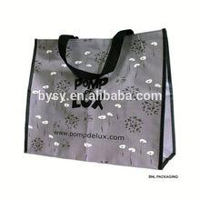 New Arrival flower print gift shopping bag