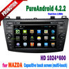 for mazda 3 car dvd navigation bluetooth wifi 3G tv radio 8 inch for 2012 2011 2010 2009