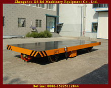 High Efficiency and Best Quality Electric Rail Flatbed Car