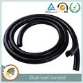 10-30mm rede de proteção de cabo de plástico dupla parede da tubulação elétrica conduto