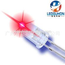 high bright 5mm red led 16000mcd 2V long legs