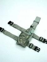 Tactical Drop Leg Light Pistol Holster Digital ACU Camo gun Holster