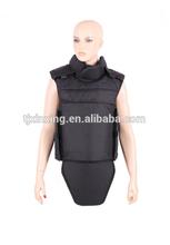 De alta calidad total protección a prueba de balas chaleco; de alta calidad de kevlar body armor