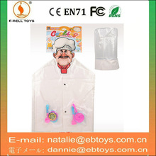 Wholesale toys kitchen play set cook costume and tool