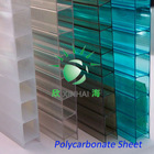 China construction material double wall polycarbonate hollow panel UV coating for swimming pool
