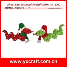 Christmas snake ZY11S407-3-4 10'' cute snowman