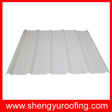 construction different color painted pvc roofing