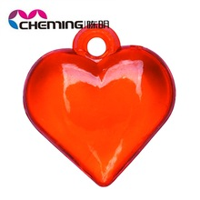 Wholesale new colorful plastic heart beads