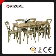 Antique Solid Wood Dinette Set OZ-SW-200