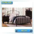 de haute qualité en métal lit mobilier de chambre